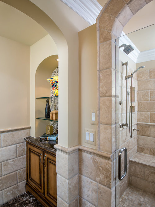 Traditional Master Bath Design Ideas, Pictures, Remodel & Decor with ...