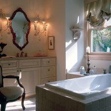 Mediterranean Bathroom by Erotas Building Corporation