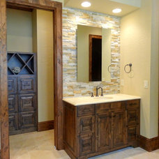 Rustic Bathroom by High Country Cabinets of Banner Elk
