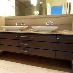 flat panel bathroom cabinets | houzz
