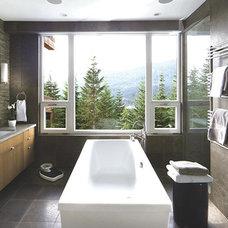 Contemporary Bathroom by Blu Bathworks