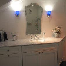 Eclectic Bathroom by Toni Sabatino
