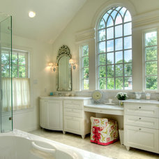 traditional bathroom by Atticus Architecture