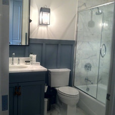 Eclectic Bathroom by Julie Holloway