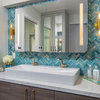 Bathroom of the Week: Spa Look and More Storage in 95 Square Feet