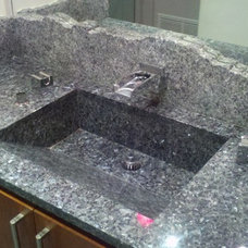 Contemporary Bathroom by The Granite Shop