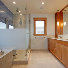 Contemporary Bathroom by Anderson Construction Group, Inc.