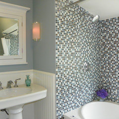 bathroom by Amy Cuker, MBA, LEED AP