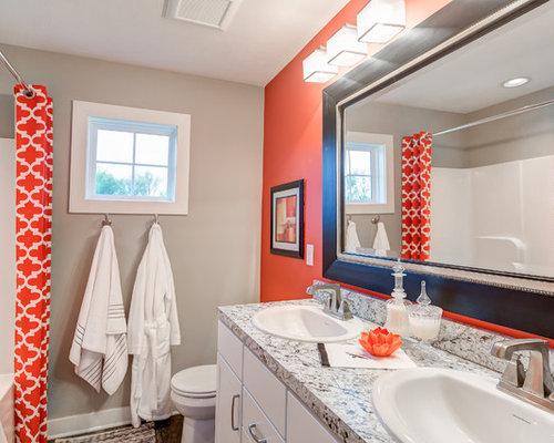 Fotos de baños  Diseños de baños románticos con parades ...
