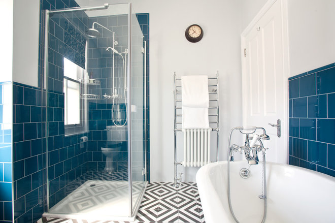 Industrial Bathroom by The Brighton Bathroom Company