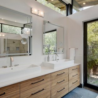 75 Beautiful Bathroom With Light Wood Cabinets Pictures Ideas April 2021 Houzz