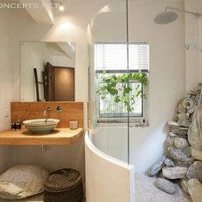 Contemporary Bathroom by Newton Concepts Furniture & Interior Design