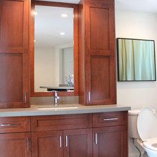 Modern Bathroom by Goldcon Construction