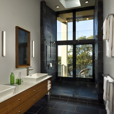 Modern Bathroom by Blaze Makoid Architecture