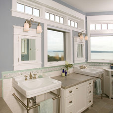 Traditional Bathroom by G Little Construction