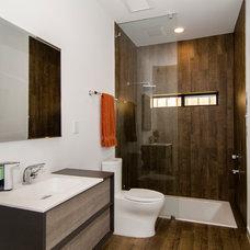 Contemporary Bathroom by Greenbrook Homes