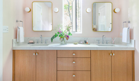 Bathroom Tour: Sisters' Shared Bath Is a Blushing Beauty