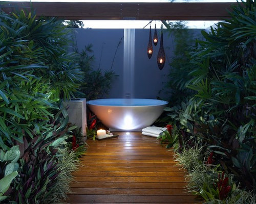 Very small garden houzz for Very small garden ideas