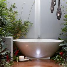 Modern Bathroom by Dean Herald-Rolling Stone Landscapes