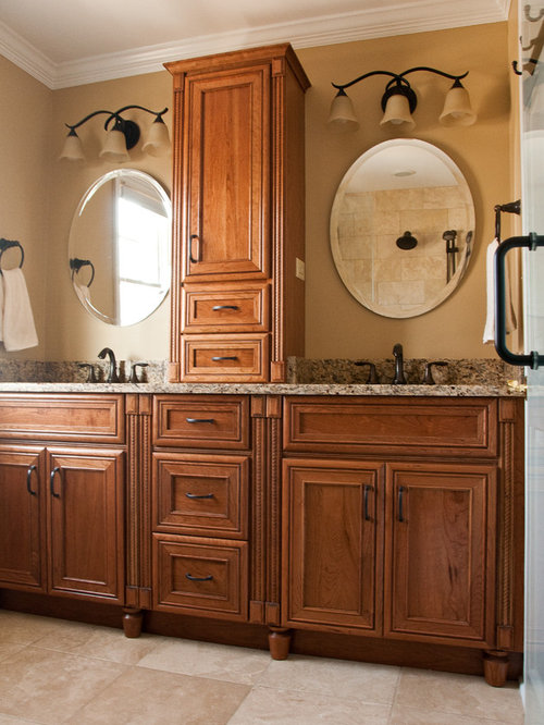 Double Vanity Towers Home Design Ideas Pictures Remodel