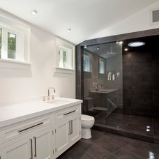Contemporary Bathroom by White Picket Fence, Inc