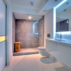Modern Bathroom by suzanne lawson design - interior design