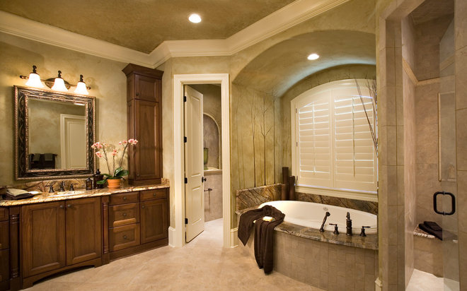 Traditional Bathroom by Living Concepts Home Plans By Frank Snodgrass