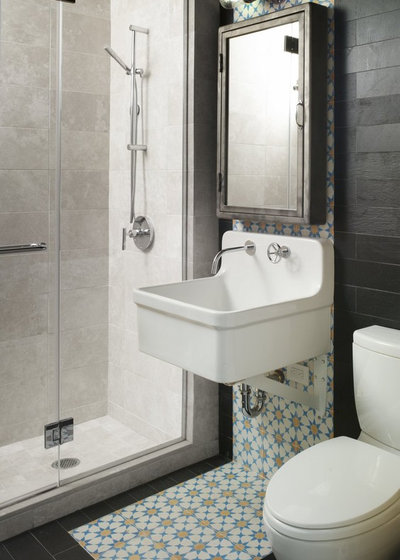 Small Bathroom Secret Free Up Space With A Wall Mounted Sink