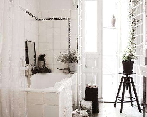Urban Bathroom Photo In Malmo
