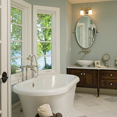 Traditional Bathroom by Alexander Design Group, Inc.