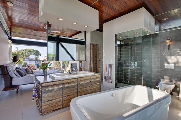 Modern Bathroom Boiler Residence