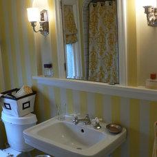 Eclectic Bathroom by Timothy De Clue Design L.L.C