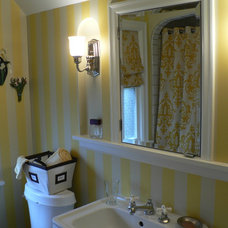 Traditional Bathroom by Timothy De Clue Design L.L.C