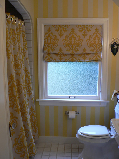 inspiration for a midsized eclectic 34 bathroom remodel in seattle with an
