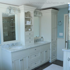 Traditional Bathroom by Homestead Kitchens