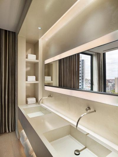 10 rangements malins pour une salle de bains ultra pratique - Salle de bain ultra moderne ...