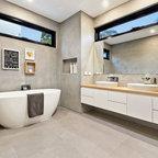 Californian bungalow renovation - Traditional - Bathroom - Sydney - by Luisa Volpato Interiors