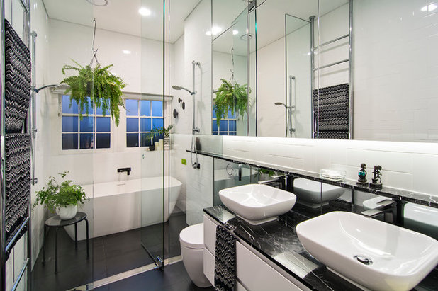 Contemporary Bathroom by KCreative Interiors