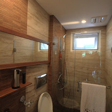 Eclectic Bathroom Bonoan Powder Room