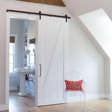 Traditional Bathroom Bonus Room - Home Office