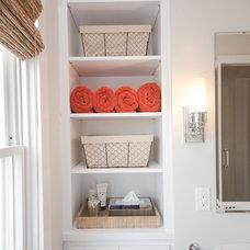 Transitional Bathroom Bonus Room - Home Office
