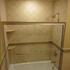 Traditional Bathroom by S. Cornine Contracting, LLC