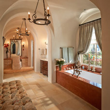 Mediterranean Bathroom by Thompson Custom Homes