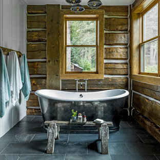 Delicieux 75 Beautiful Rustic Turquoise Bathroom Pictures U0026 Ideas | Houzz