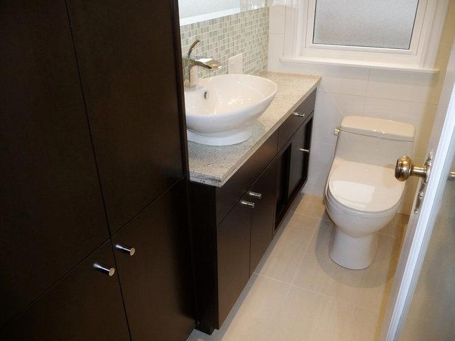Contemporary Bathroom by Marcon Kitchens & Bath Studio