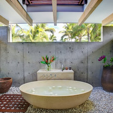 Contemporary Bathroom by Gregory Pierce Photography