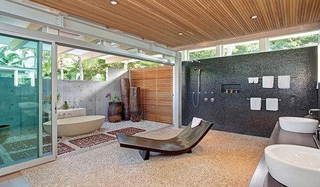 7 ideas para abrir el baño al exterior y disfrutar de la naturaleza