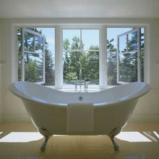 Eclectic Bathroom by Eck | MacNeely Architects inc.