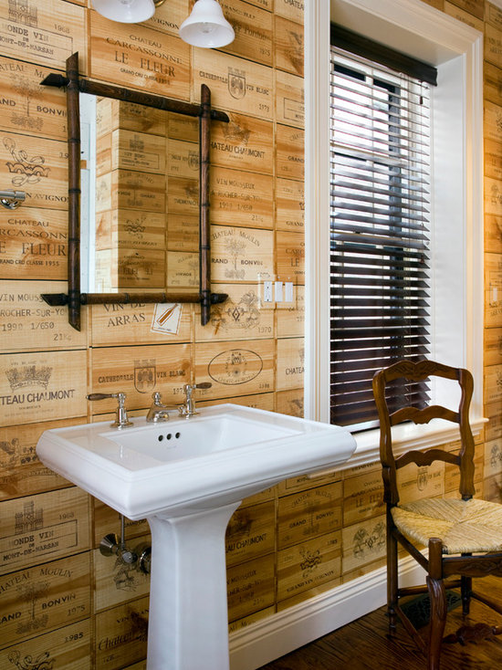 vinyl bathroom wall covering | houzz
