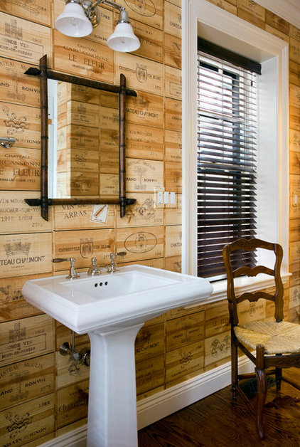Eclectic Bathroom by JW Construction